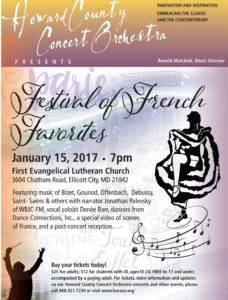 A Festival of French Favorites @ First Evangelical Lutheran Church | Ellicott City | Maryland | United States